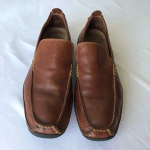 Cole Haan Nike Air Tan Slip On Loafers Size 9M